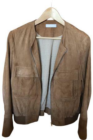 Stefanel Women Gilets - Leather short vest