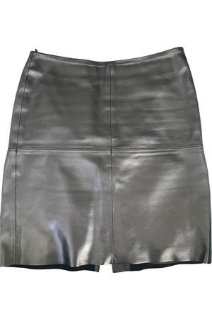 Benetton Leather mini skirt