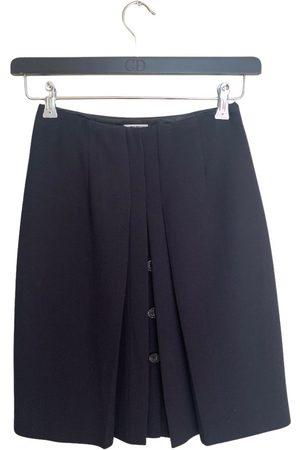 Miu Miu Women Mini Skirts - Wool mini skirt