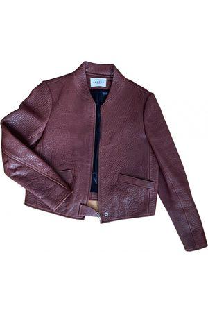 Sandro Leather short vest