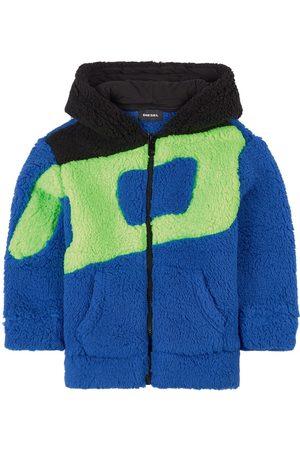 Diesel Kids - Multi Teddy Jacket - 4 years - - Spring and fall jackets