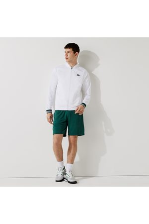 Lacoste Men's SPORT Houndstooth Patterned Breathable Shorts - M - 4