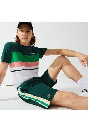 Lacoste Men's SPORT Contrast Bands Lightweight Shorts - S - 3