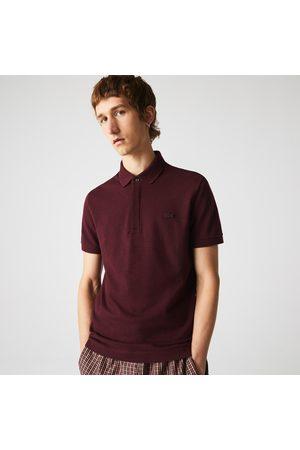 Lacoste Men Polo Shirts - Men's Paris Regular Fit Stretch Cotton Piqué Polo - S - 3