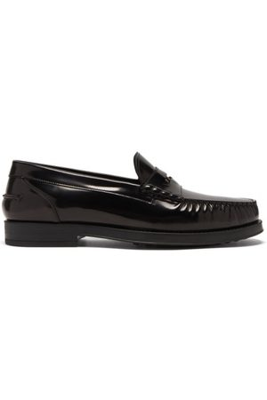 Tod's Leather Penny Loafers - Mens