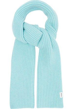 A.P.C. Billie Ribbed-knit Wool-blend Scarf - Mens - Light