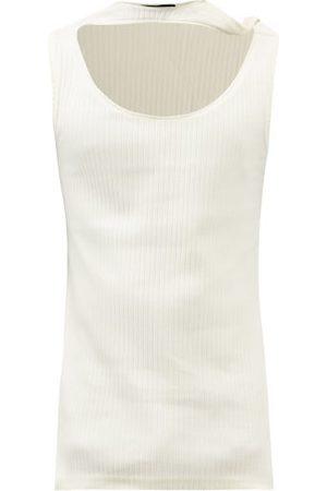 Y / PROJECT Triple-neckline Cotton-jersey Tank Top - Mens