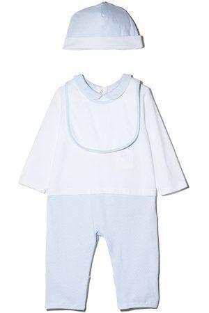 Fendi Sets - Monogram-print three-piece pajama set