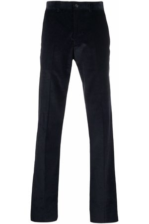 Emporio Armani Men Straight Leg Pants - Corduroy straight-leg trousers