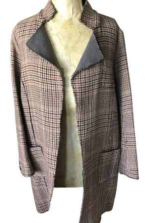 Manila Grace Women Coats - Wool coat