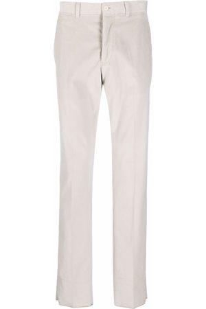 Emporio Armani Straight leg corduroy trousers
