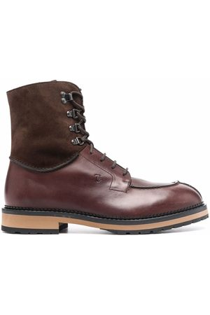 Tod's Men Lace-up Boots - Lace-up leather boots