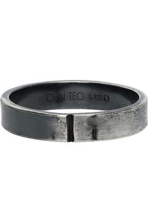 Chin Teo Men Rings - SSENSE Exclusive 4mm Ring