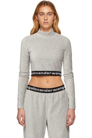 Alexander Wang Women Long sleeves - Corduroy Long Sleeve Turtleneck