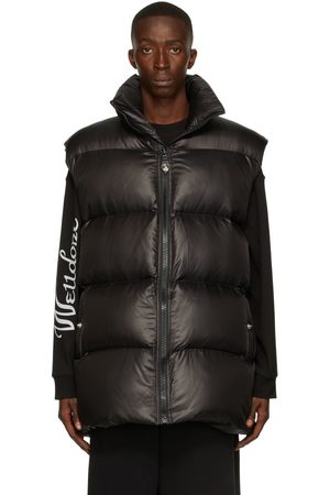 We11 Done Men Gilets - Down Nylon Quilted Vest