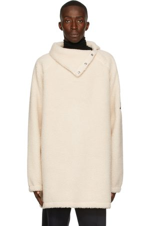 We11 Done Men Fleece Jackets - Fleece Buttoned Neck Jacket