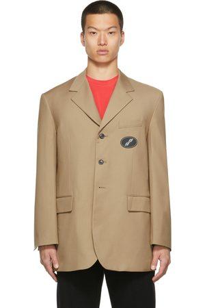 We11 Done Men Blazers - Suit Logo Blazer
