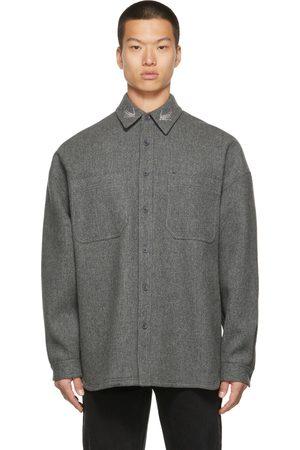 We11 Done Men Casual - Wool Oversized Shirt