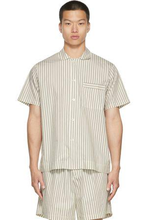 Tekla Poplin Striped Pyjama Shirt