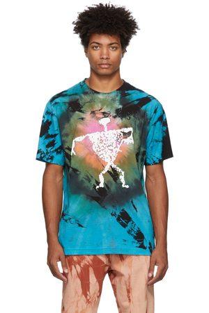 COME BACK AS A FLOWER Tie-Dye Stone Man T-Shirt