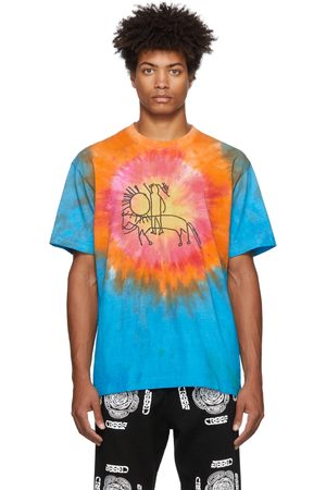 COME BACK AS A FLOWER Tie-Dye Sun Horse T-Shirt