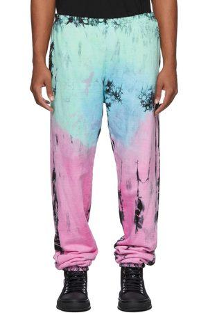 COME BACK AS A FLOWER Men Sweats - Tie-Dye Rain Cloud Lounge Pants