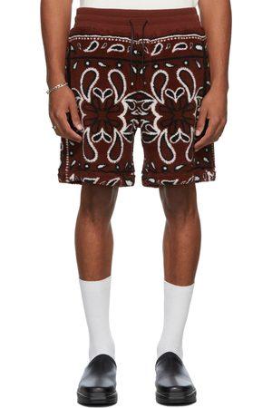AMIRI Men Sweaters - Fleece Bandana Print Shorts
