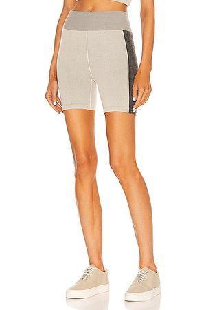The Upside Women Shorts - Circular Knit Mini Spin Short in Grey