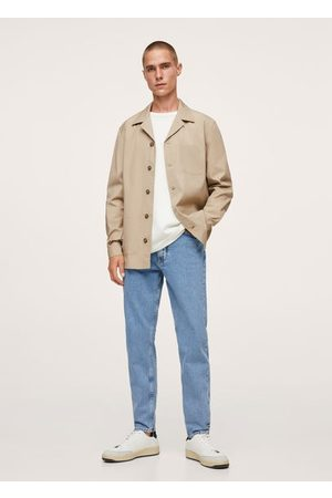MANGO Men Casual - Chest-pocket cotton overshirt