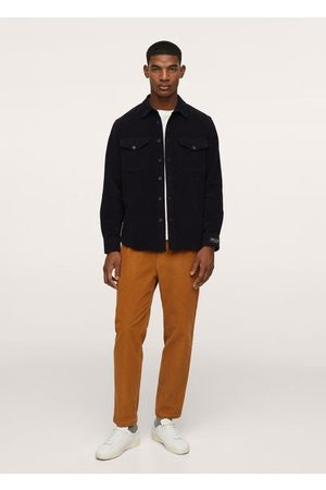 MANGO Pockets textured overshirt