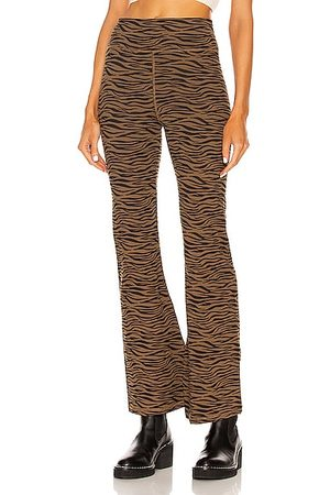 The Upside Malibu Wave Florence Pant in Brown