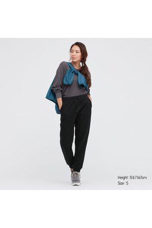UNIQLO Women Sweatpants - Women's HEATTECH Pile-Lined Sweatpants, , XS