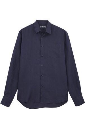 Vilebrequin Men Long sleeves - Linen Shirt Solid