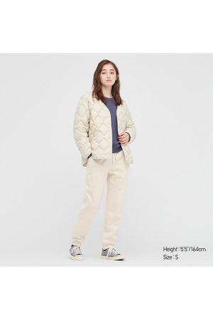 UNIQLO Women Sweatpants - Women's HEATTECH Pile-Lined Sweatpants, , XXS