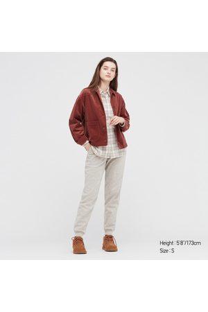 UNIQLO Women's HEATTECH Pile-Lined Sweatpants, , XS