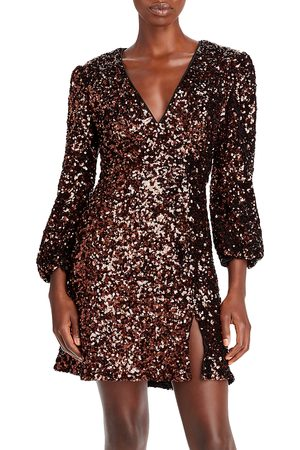 French Connection Eeka Sequined Mini Dress