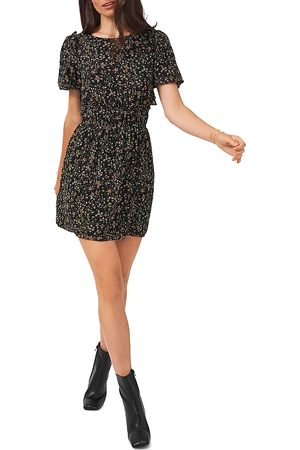 1. STATE Women Party Dresses - Bubble Sleeve Mini Dress
