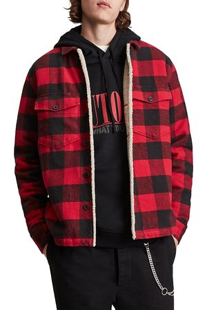 AllSaints Buffalo Plaid Shirt Jacket