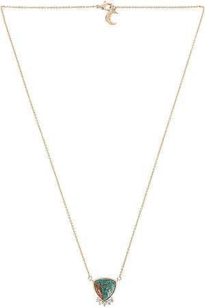 Lili Claspe Emerson Pendant in Metallic Gold.