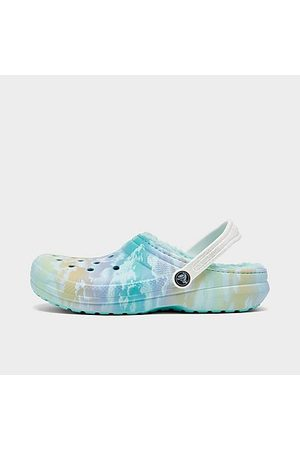 Crocs Clogs - Big Kids' Classic Lined Out Of This World Clog Shoes Size 4.0