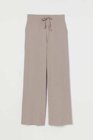 H&M Women Sweats - Ribbed Pants