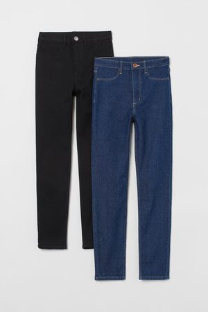 H&M 2-pack Skinny Fit High Jeans