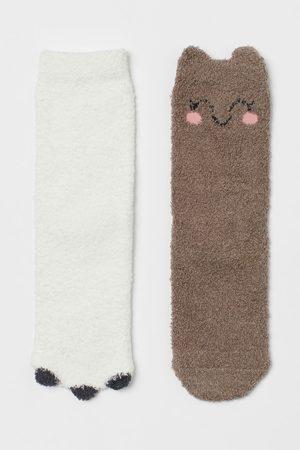 H&M Kids Socks - 2-pack Chenille Socks