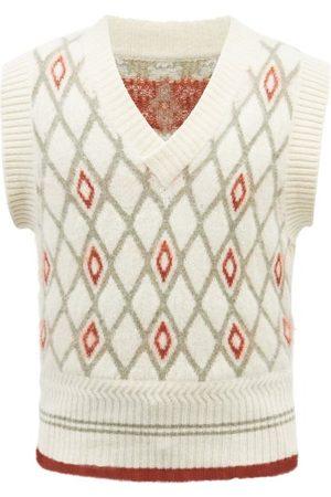 S.s. Daley Jupp Argyle Knit Sweater Vest - Mens