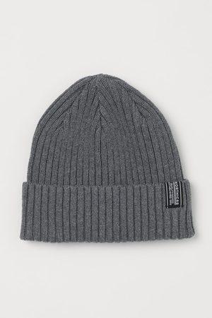 H&M Men Hats - Rib-knit Hat