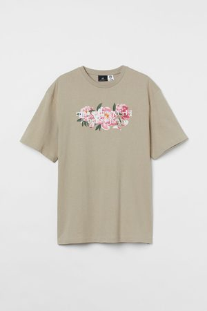 H&M Relaxed Fit Cotton T-shirt