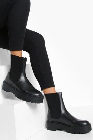 Boohoo Womens Chunky Chelsea Boot - - 5