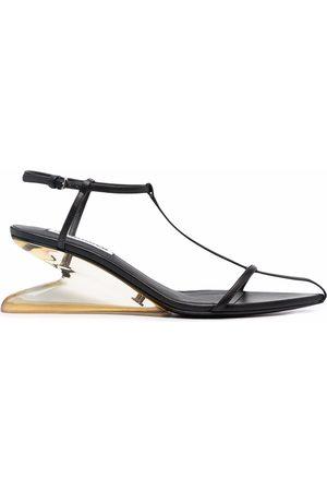 Jil Sander Open-toe wedge sandals