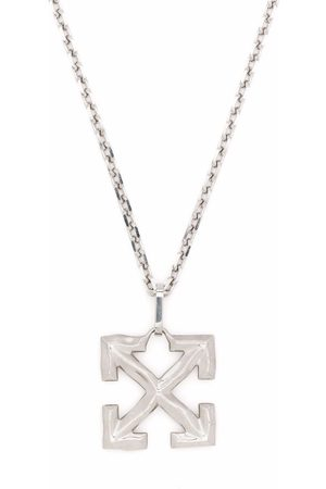 OFF-WHITE MELTED ARROW NECKLACE METAL NO COLOR - Metallic