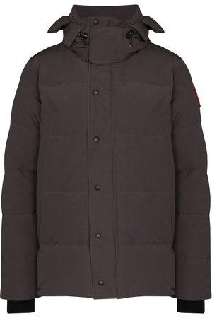 Canada Goose Wyndham hooded parka coat - Grey
